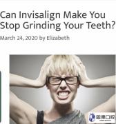 隐适美矫正牙齿同时可以治疗磨牙